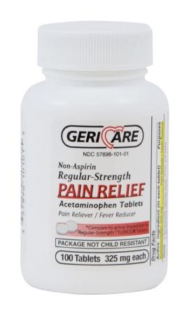 GeriCare Acetaminophen Tablets 325MG #100