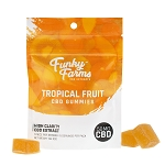 Funky Farms Gummies 50mg 5pk (Tropical Fruit Flavor)