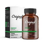 Original Hemp Energy Capsules 750mg #60