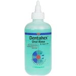 Dentahex Oral Hygiene Rinse for Dogs & Cats 8oz