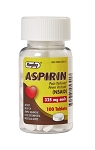 Aspirin Pain Reliever Tablets 325mg #100