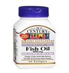 Omega 3 Fish Oil Softgels 1000mg