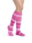Microfiber Shades Socks Calf 15-20mmHg Women Closed Toe