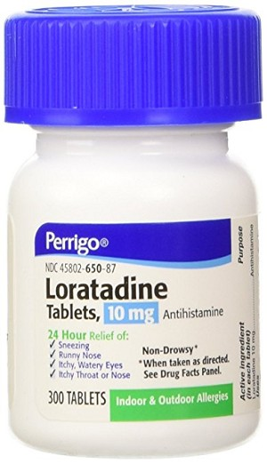 Loratadine Tablets 10mg #300