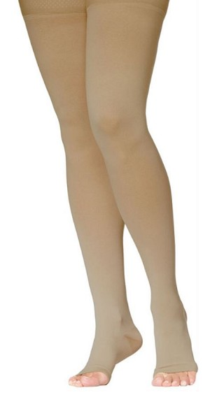 Access High Compression Stocking Thigh 20-30mmHg Unisex Open Toe