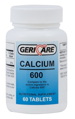 Calcium Tablets 600 MG #60
